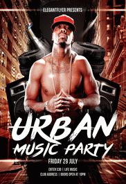 Flyer for Urban Music