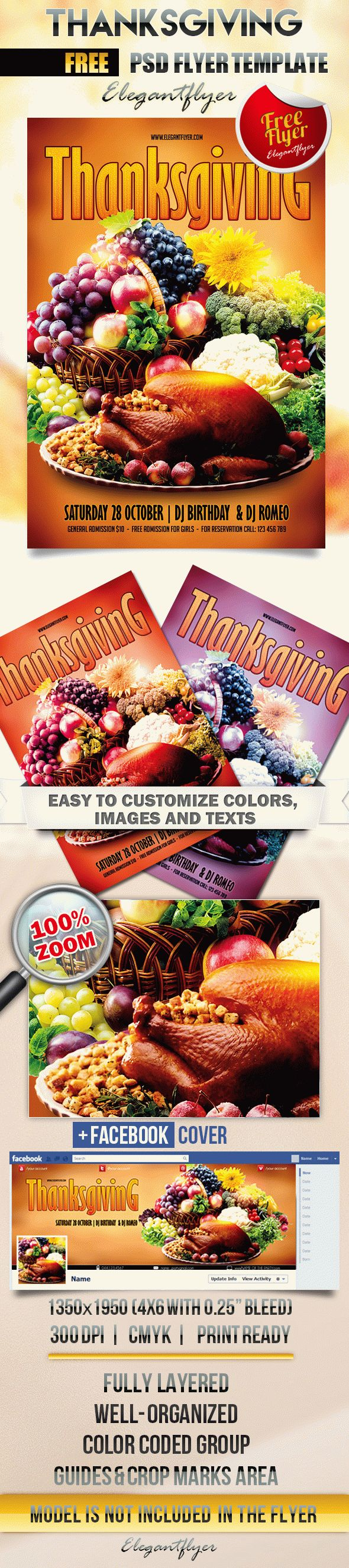 Free Flyer for Thanksgiving Dinners