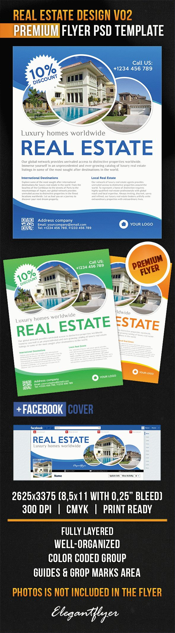 Real Estate Design V02 – Flyer PSD Template