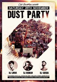 Dust Party – Flyer PSD Template