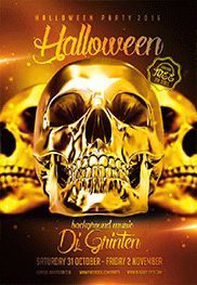 Free Dia De Los Muertos Party – Flyer PSD Template
