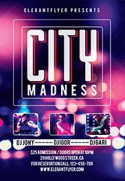 Smallpreview_City_Madness-flyer-psd-template-facebook-cover