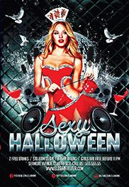 Sexy Halloween – Flyer PSD Template