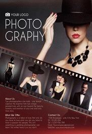Photo Studio Poster Template