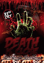 Death Is Close – Flyer PSD Template
