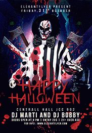 Happy Halloween Party Flyer