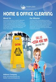 Home Cleaning – Flyer PSD Template