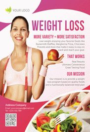 Weight Loss – Flyer PSD Template