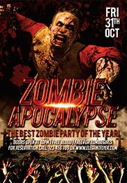 Horrifying Halloween – Flyer PSD Template