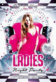 Ladies Party Flyer