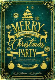 Bad Santa Party – Flyer PSD Template