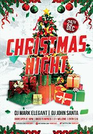 Xmas Party – Flyer PSD Template
