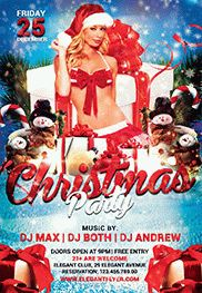 Christmas Club Flyer