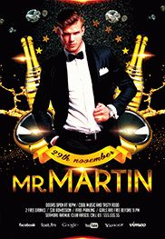 Mafia Party – Free Flyer PSD Template + Facebook Cover