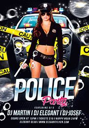 Smallpreview_Police_Party-psd-template-facebook-cover