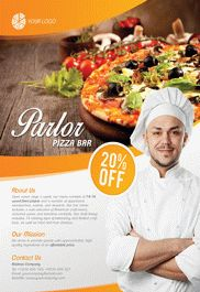 Pizza Parlor – Flyer PSD Template