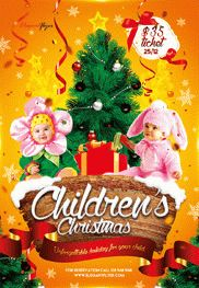 Smallpreview-Children's_Christmas-flyer-psd-template-facebook-cover