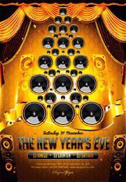 The New Year's Eve – Flyer PSD Template
