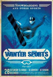 Free Sports Flyer Templates in PSD | by ElegantFlyer