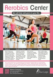 Aerobics Center – Flyer PSD Template