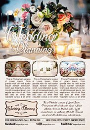 Wedding Planning – Flyer PSD Template