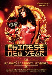 Free Flyer For Chinese New Year