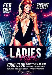 Free Flyer Template For Ladies Night