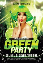 Smallpreview_green-party-flyer-psd-template-facebook-cover