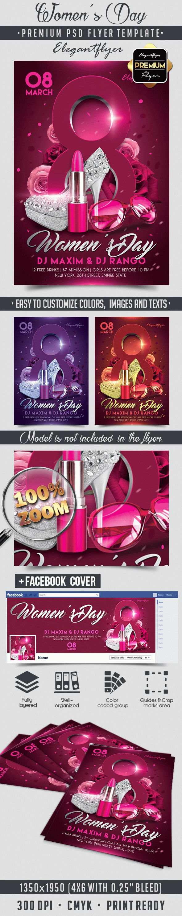 International Women's Day Flyer Template