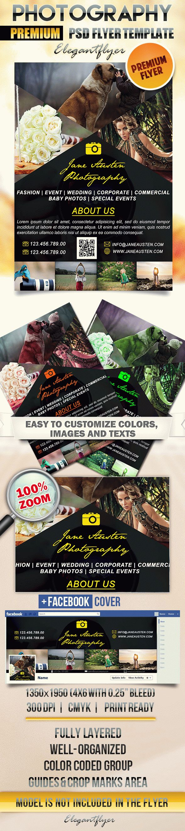 Template Poster for Photography Theme
