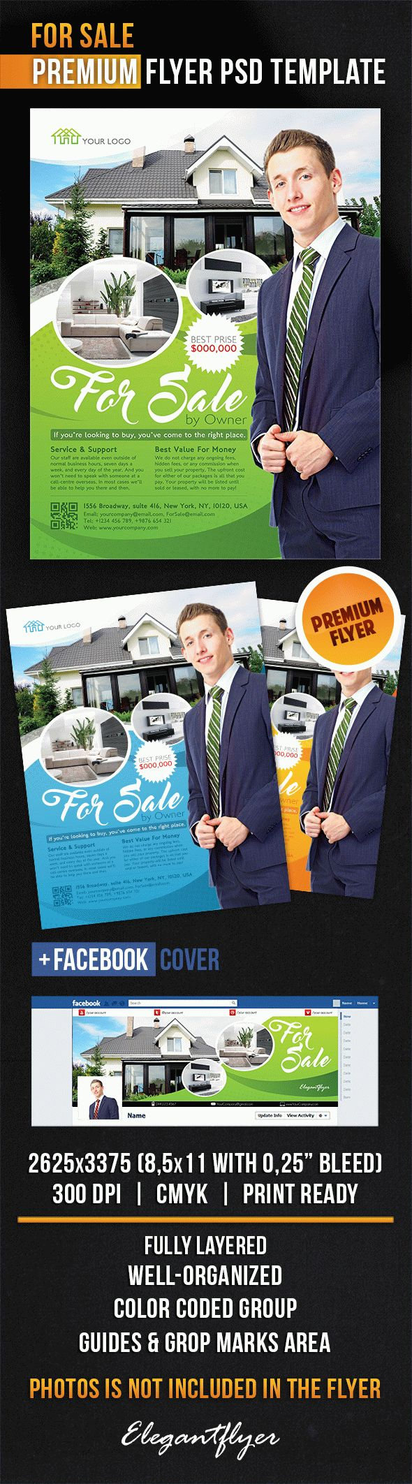 For Sale – Flyer PSD Template