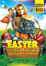 5 De Mayo Party – Flyer PSD Template + Facebook Cover