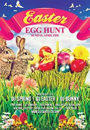 Happy Easter Sunday Poster