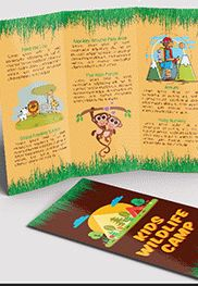 Smallpreview_Kids_Wildlife_Camp_Tri-Fold_Brochure-psd-template