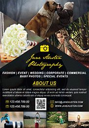 Alternative Photography – Flyer PSD Template + Facebook Cover