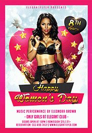Flyer for Women's Day Celebration Template