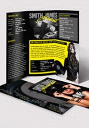 Dj press kit premium tri fold psd brochure template by for Dj press kit template free