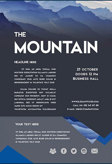 Mountain_Smallpreview_flyer_psd_template_facebook_cover
