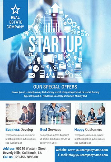 Business Promotion – Flyer PSD Template