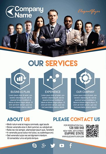 Multipurpose Corporate – Flyer PSD Template