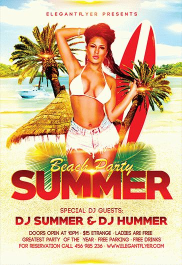 Smallpreview-Summer_Beach_Party-flyer-psd-template-facebook-cover