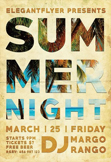 Smallpreview-Summer_Night-flyer-psd-template-facebook-cover