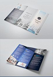 Company PREMIUM Flyer PSD Template + Facebook Cover