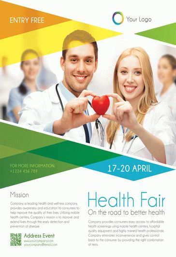 Health Fair  Flyer Psd Template  Facebook Cover  By Elegantflyer