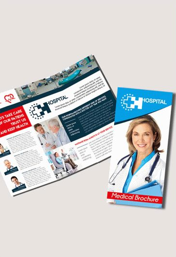 Medical  Premium TriFold Psd Brochure Template  By Elegantflyer