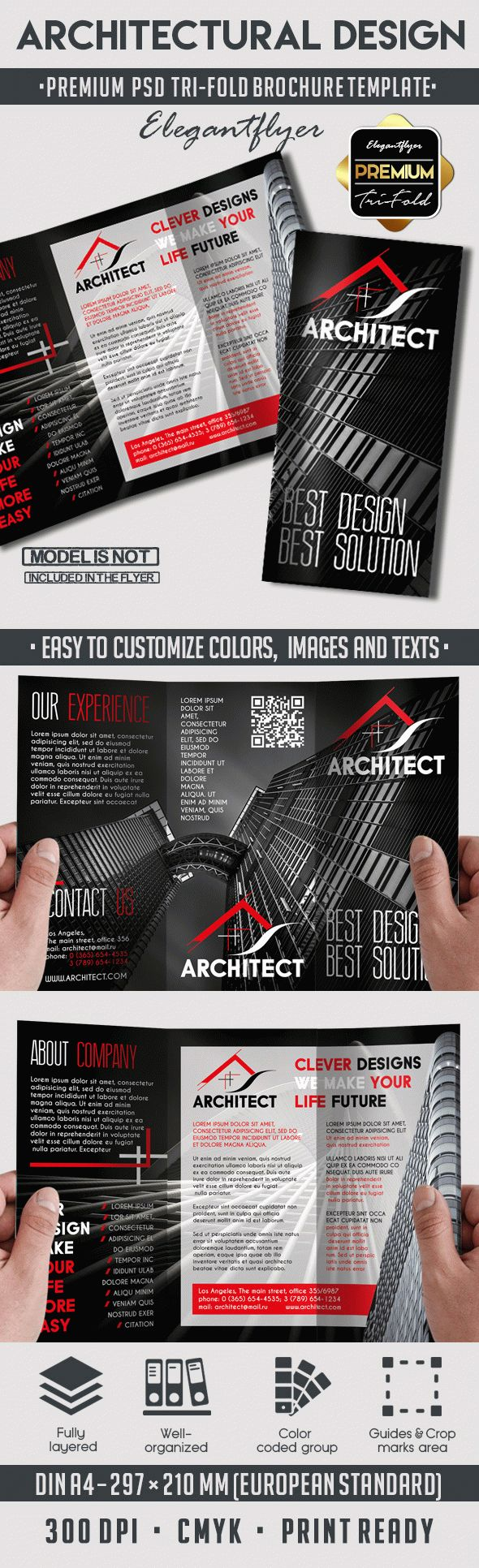 Architectural Design PSD Template