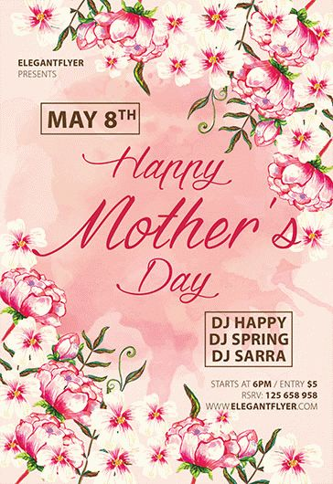 Mother's Day – Flyer PSD Template