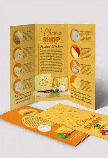 Smallpreview_Cheese_Shop_Tri-Fold_Brochure_psd_template