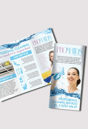 Cleaning Service Tri-Fold Brochure