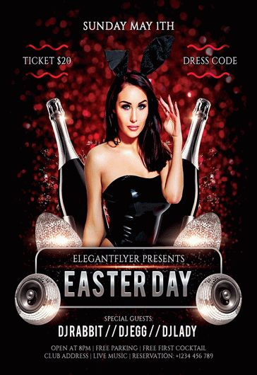 Easter Day – Flyer PSD Template
